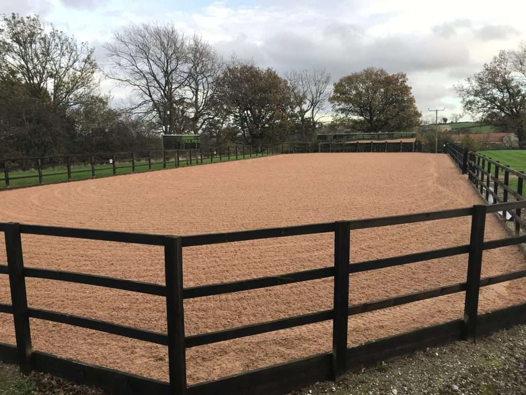 Ripon Resurface Track / Arena and New Lunge Area