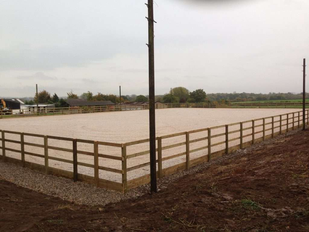 Wolverhampton Outdoor Arena Construction and Surface